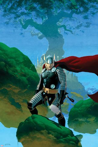 Astonishing Thor No.1 Cover: Thor Standing Poster