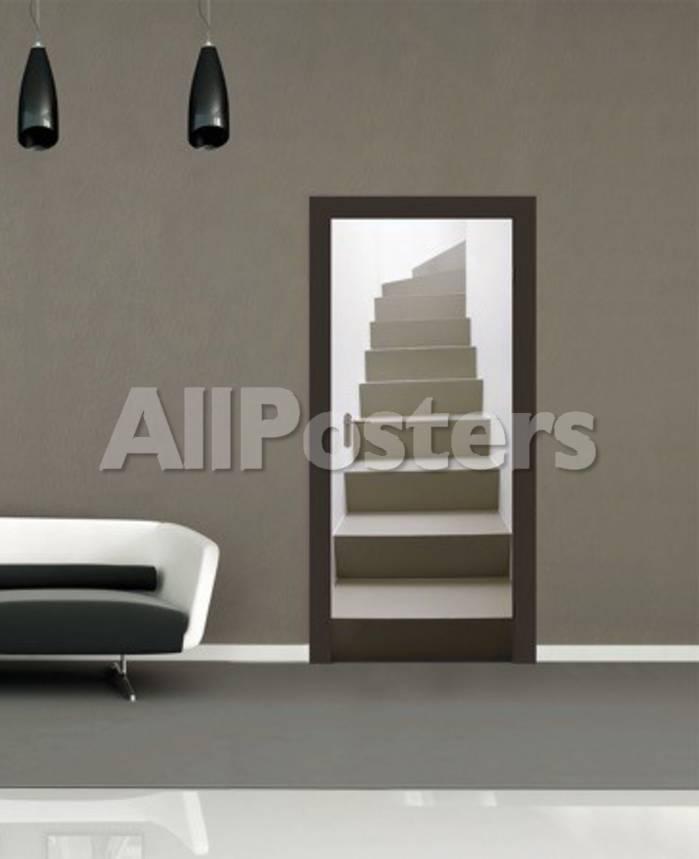Escaleras - Papel pintado para las puertas Mural de papel pintado en ...