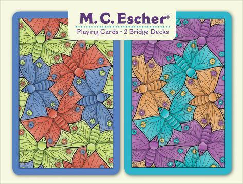 Escher Bridge Playing Card Set Playing Cards