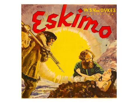 Eskimo, Jumbo Window Card, 1933 Photo