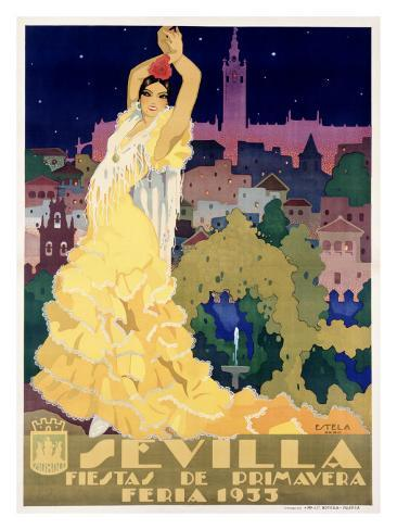 Sevilla Giclee Print