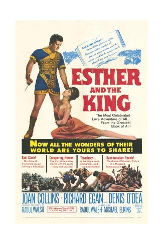 Esther and the King Art Print
