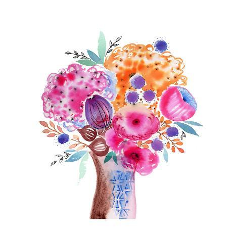Fun Bouquet Art Print
