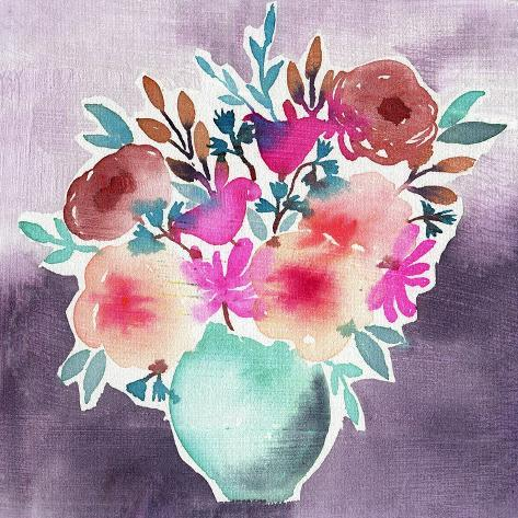 Late Summer Bouquet Art Print