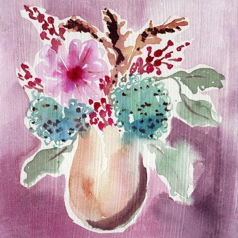 Natural Garden Bouquet Art Print