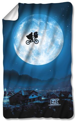 ET - Moon Fleece Blanket Fleece Blanket