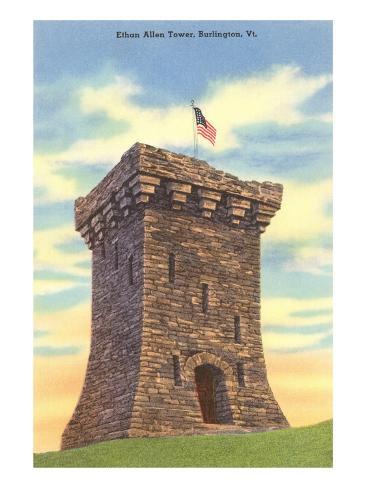 Ethan Allen Tower, Burlington, Vermont Art Print