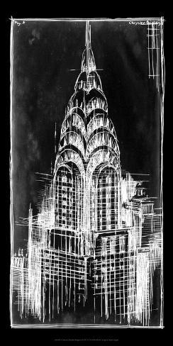 Chrysler blueprint psters por ethan harper en allposters chrysler blueprint lmina malvernweather Image collections