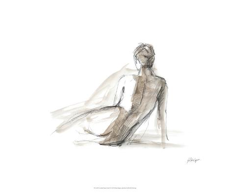 Gestural Figure Study II Limited Edition