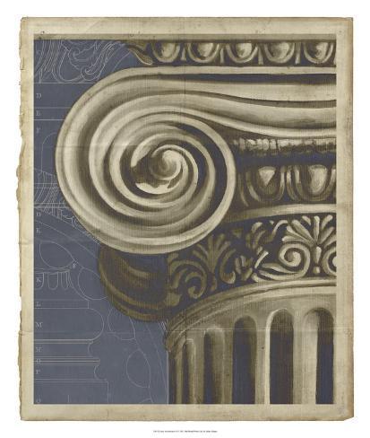 Ionic Architecture II Giclee Print