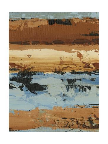 Linear Composition II Premium Giclee Print