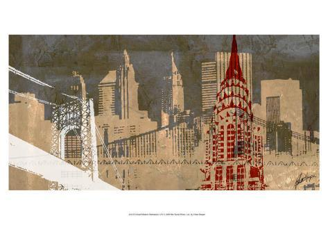 Modern Metropolis I Art Print