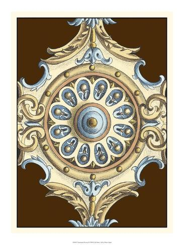 Ornamental Rosette II Art Print