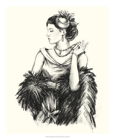 Vintage Fashion II Giclee Print