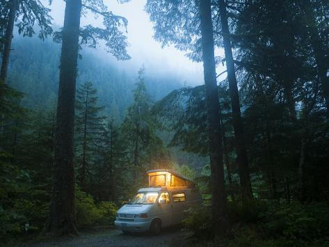 Mineral Park Campground, Mount Baker-Snoqualmie National Forest, Washington Photographic Print