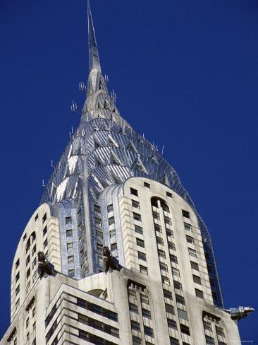 Chrysler Building, New York City, New York, USA Photographic Print