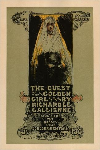 The Quest of the Golden Girls, 1896 Giclee Print