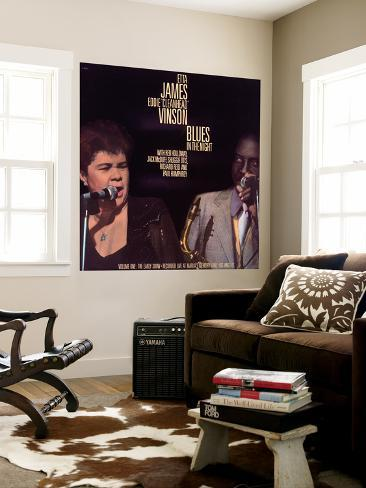 Etta James - Blues in the Night, Vol.1: the Early Show Wall Mural