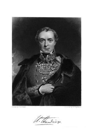 Henry Viscount Hardinge Stampa giclée