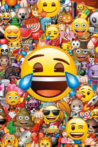 Emoji Collage Poster