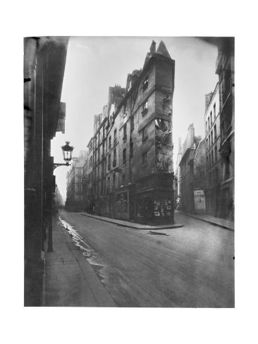 Rue de Seine and Rue de l'Echaude, Paris, c.1900 Photographic Print