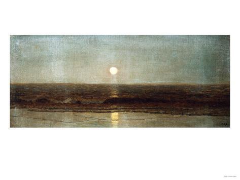 Coastal Sunset Giclee Print