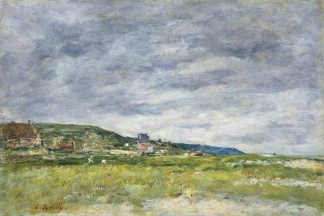 Deauville, Les Dunes Giclee Print by Eugène Boudin - by ...