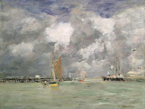 High Tide at Trouville, circa 1892-96 Giclee Print
