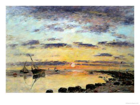 Le Havre, 1889 Giclee Print