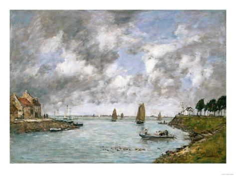 St. Valery on the Somme, 1891 Giclee Print