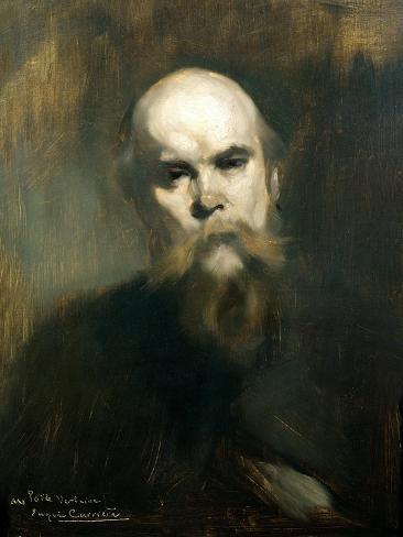 Portrait of Paul Verlaine (1844-96) 1890 Giclee Print