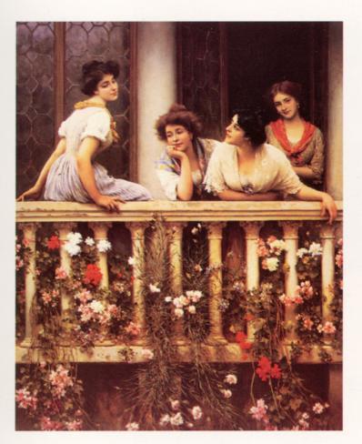 The Balcony Lámina
