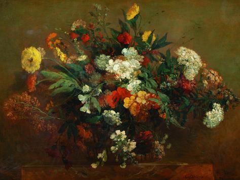 Flowers Giclee Print