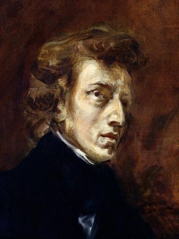 Frederic Chopin (1810-49) 1838 Giclee Print