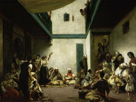 Jewish Wedding in Morocco Giclee Print