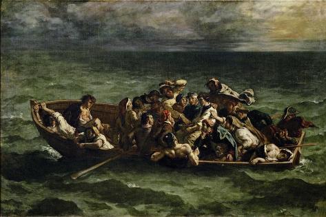 The Shipwreck of Don Juan Lámina giclée