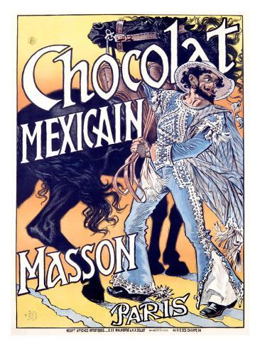 Chocolat Mexicain, Masson Giclee Print