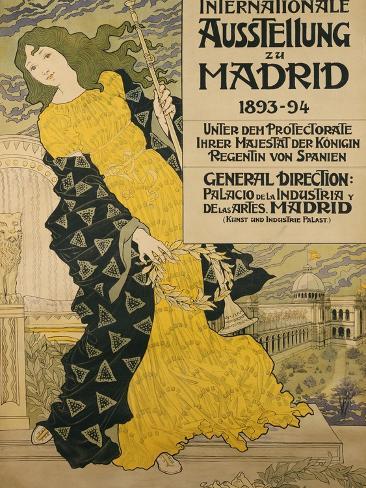 Internationale Ausstellung Zu Madrid, 1893 Giclee Print