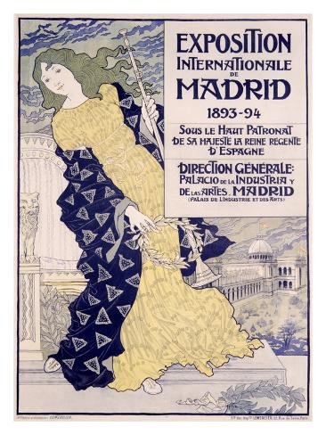 Madrid Expo Giclee Print