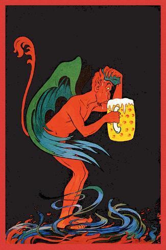 Biere au Diable Wall Decal