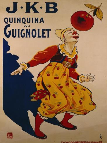 J.K.B, Quinquina au Guignolet, circa 1900 Giclee Print