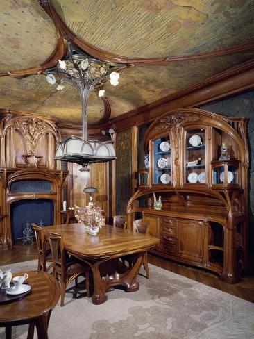 Art Nouveau Style Dining Room 1903 1906
