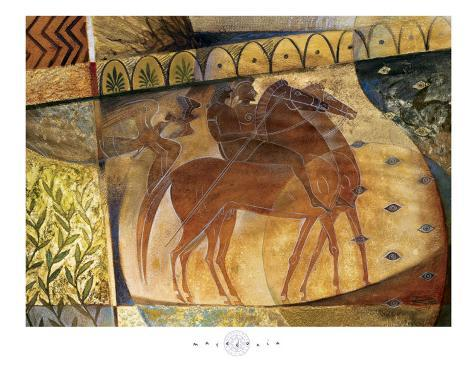Macedonia Art Print