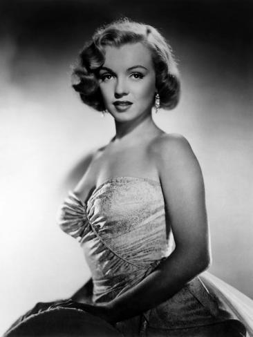 Eva al desnudo, Marilyn Monroe, 1950 Fotografía en AllPosters.es