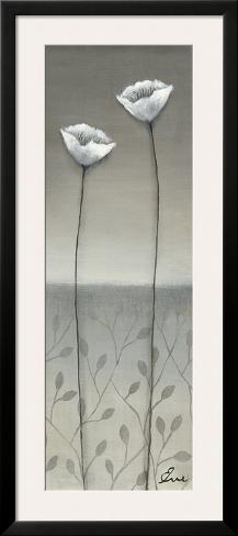 Fleur Blanc II Framed Art Print