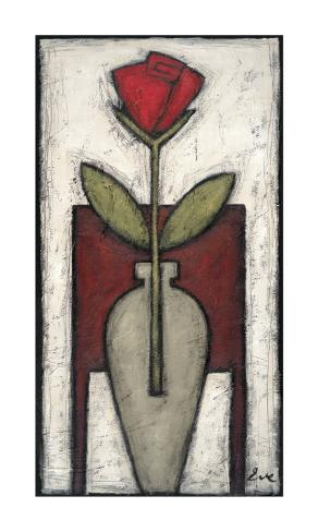 Rose Melody I Art Print