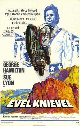 Evel Knievel マスタープリント