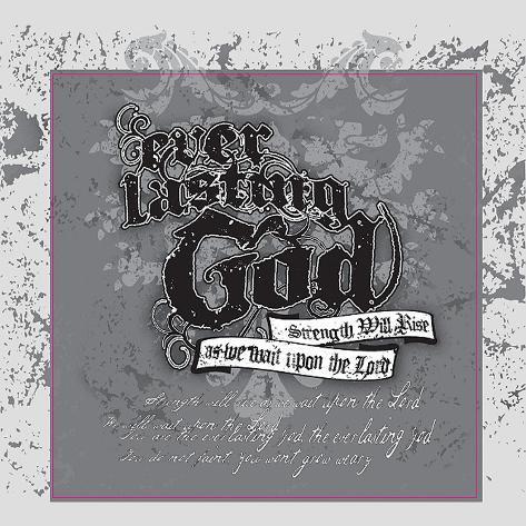 Everlasting God (Gray) Wall Decal
