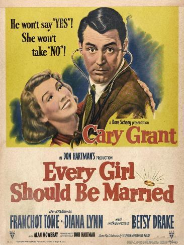 Every Girl Should Be Married, 1948, Directed by Don Hartman Impressão giclée