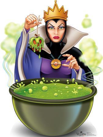 'Evil Queen - Snow White Disney Villain Lifesize Standup ... Disney Evil Queen Snow White